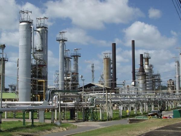 La refinería de petróleo Petrotrin, en Trinidad y Tobago, que tiene una significativa y probada reserva de crudo