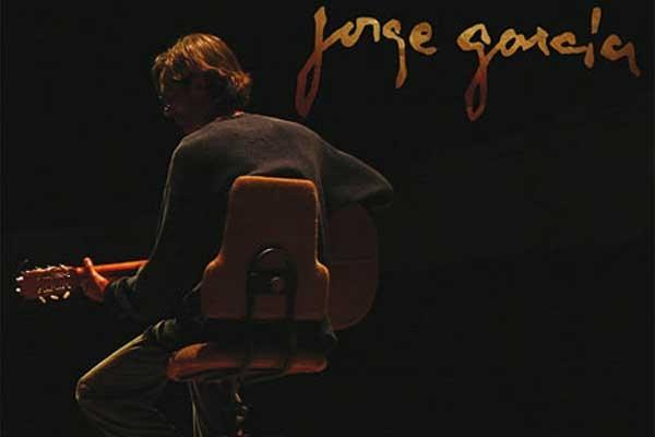 Portada del disco Jorge García en vivo