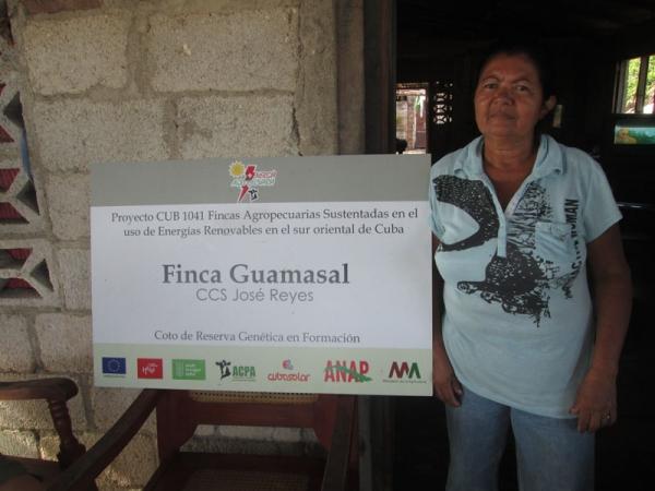 La finca El Guasamal es coto de genética en formación