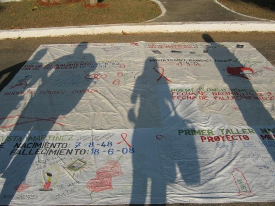 El GPSIDA pone rostro a las más de 1.150 víctimas de la epidemia en Cuba.