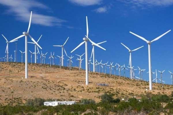 Uno de los 31 parques eólicos en operación en México. Para 2020 la capacidad instalada de esa energía renovable será de 15.000 megavatios en el país.