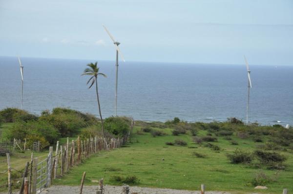 Turbinas en WindWatt Nevis Limited.