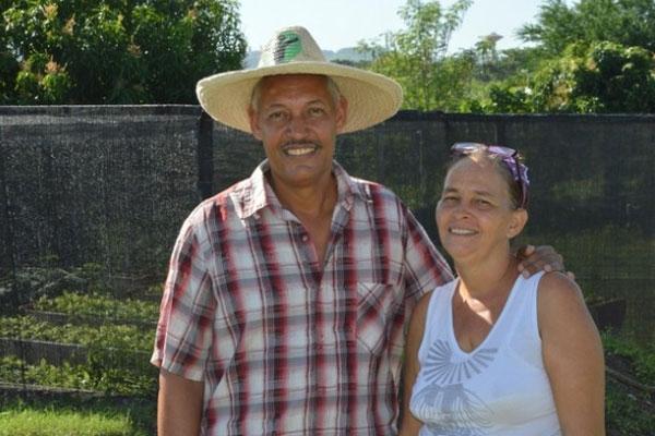 El matrimonio de Damaris González y Omar Navarro concibe su finca en el oriente de Cuba como un sistema integral de agroecología.