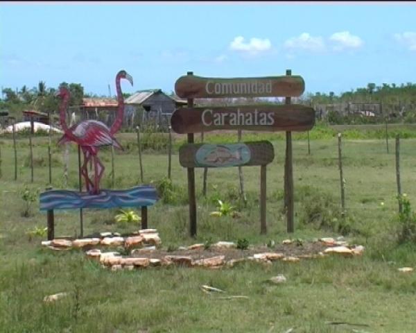 La comunidad de Carahatas, en Villa Clara, es una de las más afectadas por los ciclones y muchas personas de allí fueron trasladadas a poblados más alejados del mar.