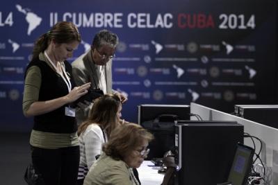 Reportarán sobre la cumbre 694 periodistas de medios de comunicación de 29 países.