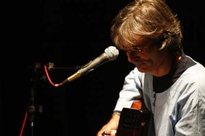 Jorge García en el teatro Osvaldo Soriano, Mar del Plata, Argentina, 2008.