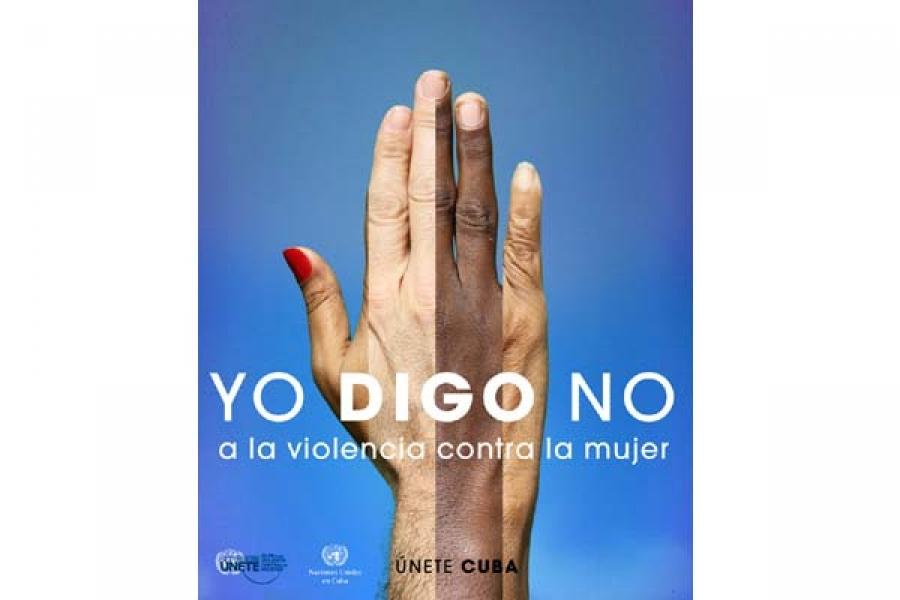 Fragmento de la imagen de Campaña Únete Cuba contra la violencia hacia la mujer (2011-2015)