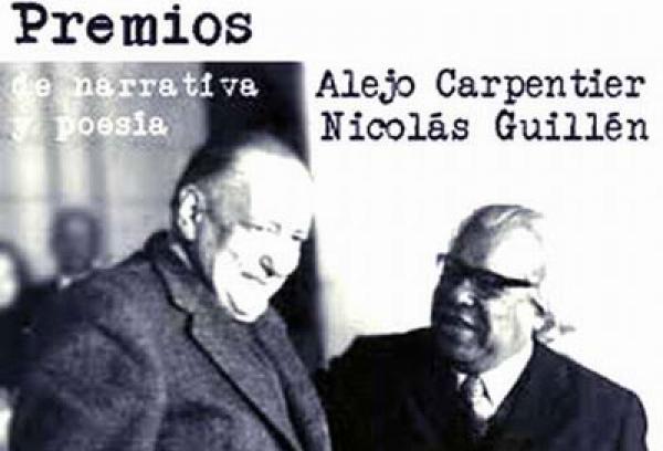 Los premios Nicolás Guillén, de poesía, y Alejo Carpentier, de novela, cuento y ensayo, se otorgarán durante la Feria Internacional del Libro La Habana 2014.