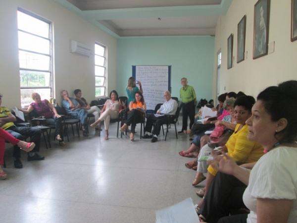 El encuentro reunió a participantes de proyectos dirigidos a espacios rurales.