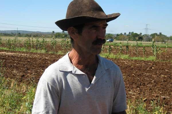Jorge Medina, beneficiario desde hace seis años del Programa de Innovación Agropecuaria Local (Pial)