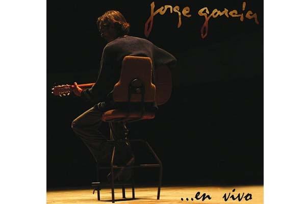 Portada CD Jorge García en vivo