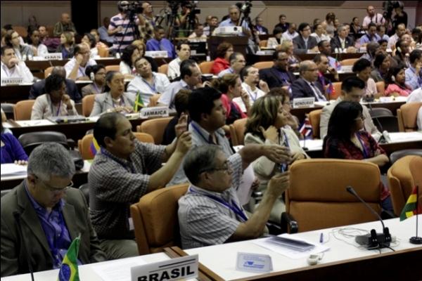 Participaron representantes de 34 países de la región de las Américas.