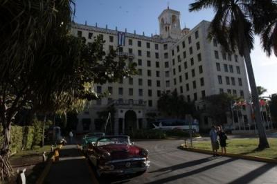 Hotel Nacional de Cuba. El turismo es uno de los sectores más atractivos para el capital foráneo