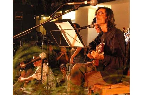 Jorge García y Ruy Adrián López-Nussa, en el concierto homenaje a Rodríguez